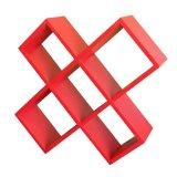 ORE International CD Rack - Red