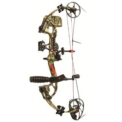 PSE Sinister RTS Bow Pkg 60lb 25.5-30.5in. LH IF Camo