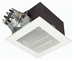 """Panasonic FV-20VQ3, The Panasonic FV-20VQ3 190 CFM Ventilation Fan features a totally enclosed condenser motor and a large, double-tapered blower wheel to quietly move air"