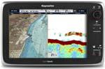 Raymarine E125-row Charts Raymarine E125 Multifunction Display