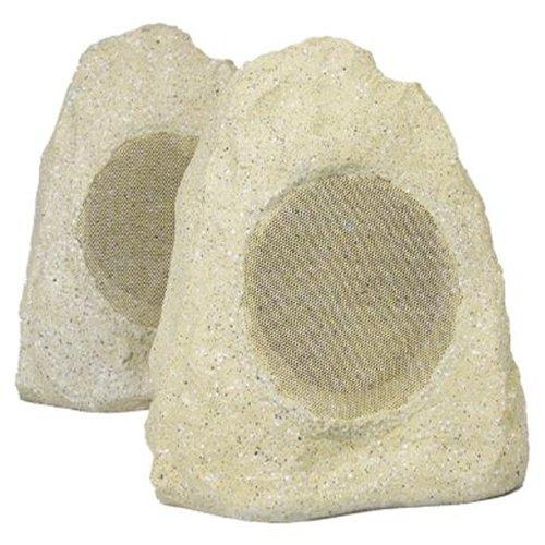 New 6.5 Woofers Outdoor Garden Waterproof Sandstone Rock Patio Speaker Pair 2R65B