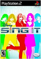 The Disney 00563 Disney Sing It features songs and videos from Disney Channel's summer blockbuster Camp Rock along with other Disney favorites including Jonas Brothers Miley Cyrus Hannah Montana and the High School Musical movies