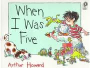 When I Was Five Binding: Paperback Publisher: Houghton Mifflin Harcourt Publish Date: 1999/08/01 Synopsis: Reaching the ripe age of six, young Jeremy changes his career ambitions from becoming an astronaut cowboy to a deep-sea diving baseball player and also sees how growing one year older has affected his friendship with Mark