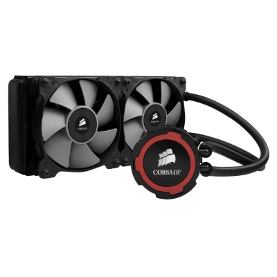 Corsair Memory Cw-9060016-ww Hydro Series H105 240mm Extreme Performance Liquid Cpu Cooler - Liquid Cooling System - (lga1156 Socket  Socket Am2  Lga1366 Socket