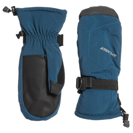 Stage Soft Shell Mittens - Waterproof, Insulated (for Men)