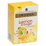 Twinings Tea Lemon and Chinese Ginger Tea, 20 ct