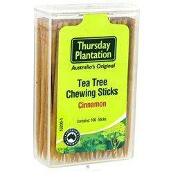 Tea Tree Toothpicks Cinnamon Thursday Plantation 100 Toothpick