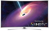 Experience a breakthrough in the home theater experience with the Samsung UN55JS9000 55.0 inch Curved Smart LED TV