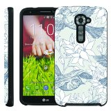 [ManiaGear] Design Graphic Image Shell Cover Hard Case (Antiqua Birds) for LG G2 VS980 Verizon