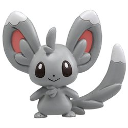 Pokemon Monster Collection Figure Chillarmy/Minccino M-22