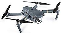 Dji Mavic Pro 190021283435 Foldable 4k Combo Drone - Gray