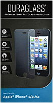 Writeright 043859681327 Duraglass Premium Tempered Glass Protection For Iphone 5, 5s, 5c