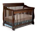 Delta Children Canton 4-in-1 Convertible Crib, Espresso Cherry
