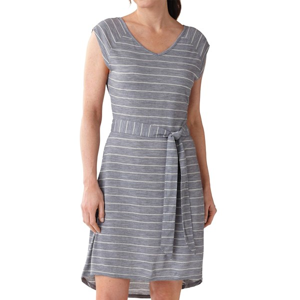 SmartWool Maybell Striped Dress - Short Sleeve (For Women)
