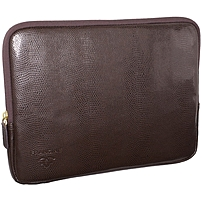 """Francine Collection Park Avenue Carrying Case (sleeve) For 10"""" Tablet Pc, Digital Text Reader - Synthetic - Brown Lizard Liz9-3"""