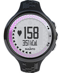 Suunto M5 Womens Black & Silver/pink With Hrm & Movestick Fitness Watc
