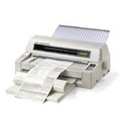 Oki 62426504 Microline 8810n - Printer - Monochrome - Dot-matrix - 16 In (width) - 18 Pin - Up To 720 Char/sec - Parallel  Usb  Lan