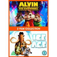 Alvin And The Chipmunks / Ice Age 1 Double Pack