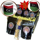 cgb_175364_1 Carsten Reisinger - Illustrations - Flag of Libya waving in the wind - Coffee Gift Baskets - Coffee Gift Basket