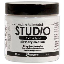 Studio Extra Time Slow-Dry Medium 4 Ounces/Jar-