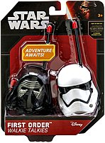 Your adventure awaits with the out of this world Walkie Talkies from the movie Star Wars  The Force Awakens