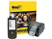 Wasp 633808391362 Inventory Control Rf Enterprise Kit - Hc1 Mobile Computer - Wpl305 Barcode Printer