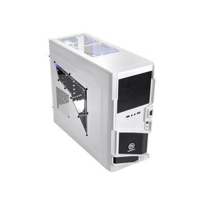 Thermaltake Vn40006w2n Commander Ms-i - Snow Edition - Mid Tower - Atx - No Power Supply ( Atx ) - Black  White - Usb/audio