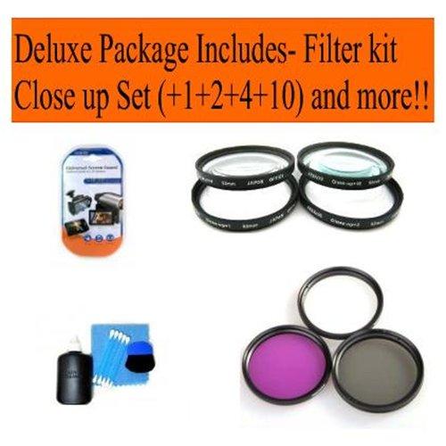 Nikon 70-300mm F/4.5-5.6g Ed If Af-s Vr Nikkor Zoom Lens   Cap Keeper   Lens Cleaning Kit   LCD Scre
