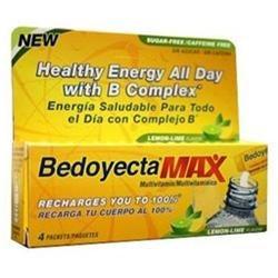 Bedoyecta Max B Complex Multivitamin 4 Packets - Multivitaminico