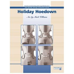 Alfred 00-12997 Holiday Hoedown - Music Book