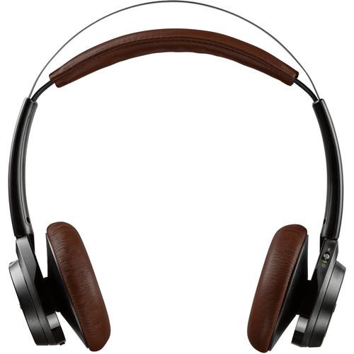 Plantronics 202649-01 Backbeat Sense Stereo Bluetooth Wireless Headphones With Microphone - Black, Espresso