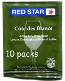 Cote des Blancs Wine Yeast - 10 Packs