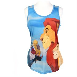 Disney Lion King Girls Tank Top Juniors Shirt
