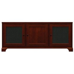 Blake Newport Cherry TV Console w - Speaker Grill Panels