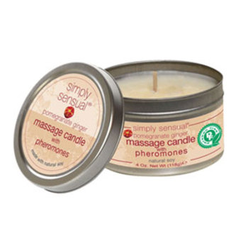 Simply Pheromone Candle (Pomegrn/Ginger)