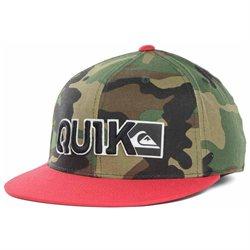 Quiksilver Quik Blocked Logo Flexfit Hat