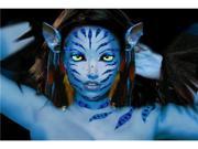 Xotic Blue Costume Rhinestone Body Art Sticker Set - Vatara Stripes