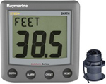 Raymarine A22010-p Raymarine St60 Plus Depth System With Thru-hull Tra