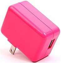 Onn Ona14ta011 Wall Charger - 5 V, 2.1 A - Pink