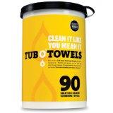 Wonder Works Tub O Towels Heavy-Duty 10