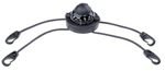 """""""Brunton Rally with Kayak Straps Brand New Includes Lifetime Warranty, The Brunton Rally Kayak Straps - Black is a floating disc compass designed to be mounted on your kayak"""