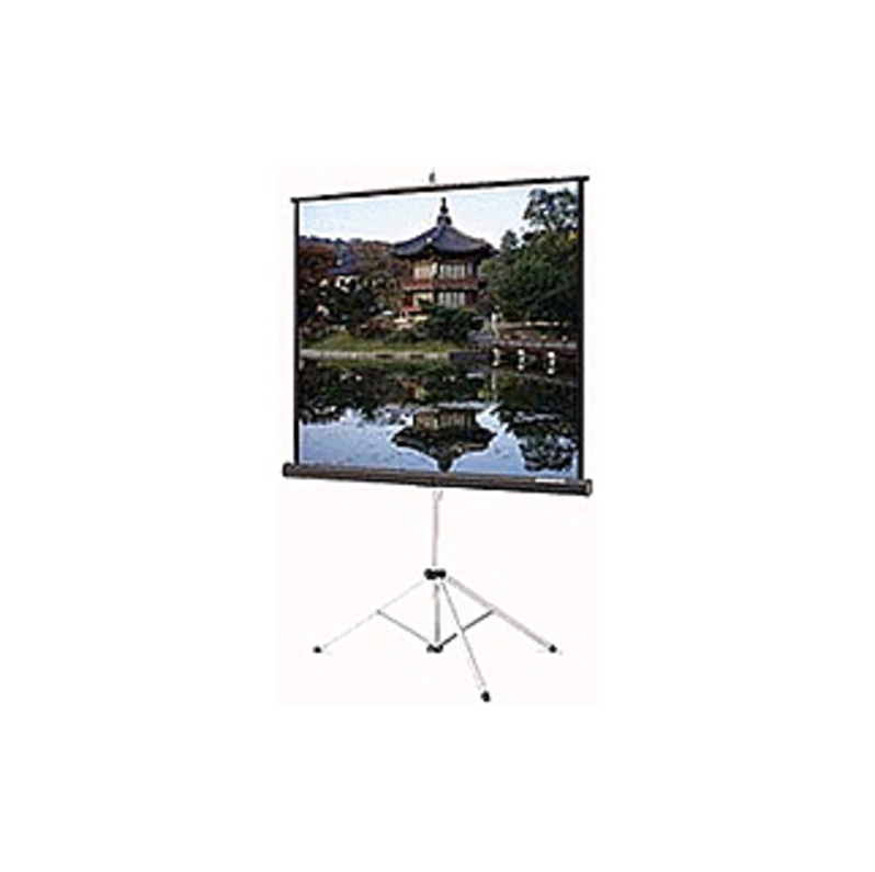 "Da-lite Picture King Portable And Tripod Projection Screen - 45"" X 80"" - Matte White - 92"" Diagonal"