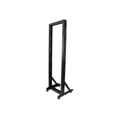 Startech.com 2postrack42 2-post Server Rack With Sturdy Steel Construction And Casters - 42u