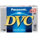 PANASONIC DVM-60EJ Mini Digital Videocassette