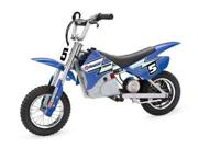 Razor 15128040 - MX350 Dirt Rocket - 2009 Type: Motorcycles Manufacturer Recommended Age: 12 and up Color: Blue Color Mapping: Blue Material: Steel Gender: Unisex Age: Child