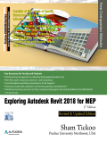 Exploring Autodesk Revit 2018 for MEP textbook covers the detailed description of all basic and advanced workflows and tools to accomplish an MEPF (Mechanical, Electrical, Plumbing, and Fire Fighting) project in a BIM environment