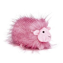 Hot Pink Fluffy Guinea 5.5 by Jellycat