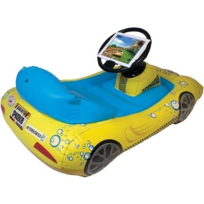 Cta Digital Nic-sik Ipad With Retina Display/ipad 3rd Gen/ipad 2 Spongebob Squarepants Inflatable Sports Car