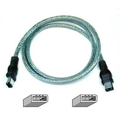 3FT IEEE-1394 Firewire Cable 6pin/6pin