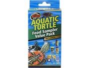 Aquatic Turtle Food Sampler
